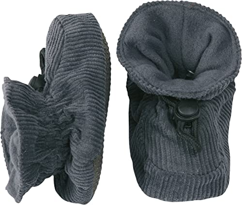 Melton Unisex Baby /& Toddler Soft Wool Booties with Toggle