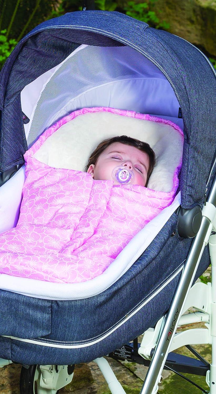 Saco universal para todos los tipos de capachos y sillas de coche Nuvita 9215 Ovetto Pop Diamond Light Grey - Beige