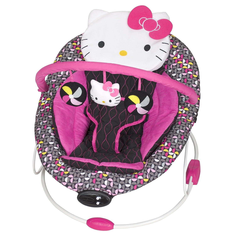 Baby Trend Hello Kitty Bouncer, Pinwheel BC26944