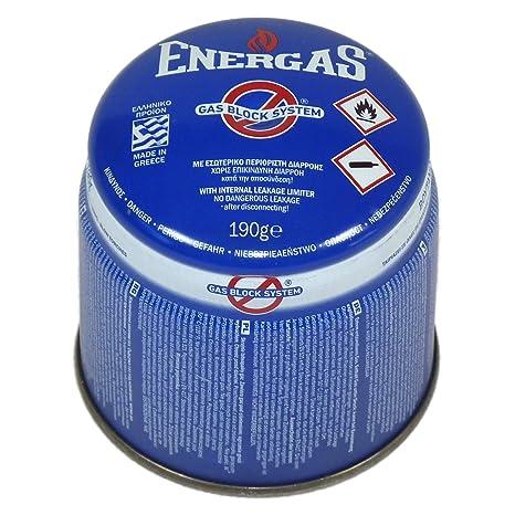 Cartucho de gas butano - Para sopletes, hornillos, cocinillas y lámparas de