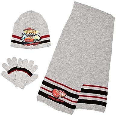 Disney - Conjunto de bufanda, guantes y gorro para niño, talla 52 ...