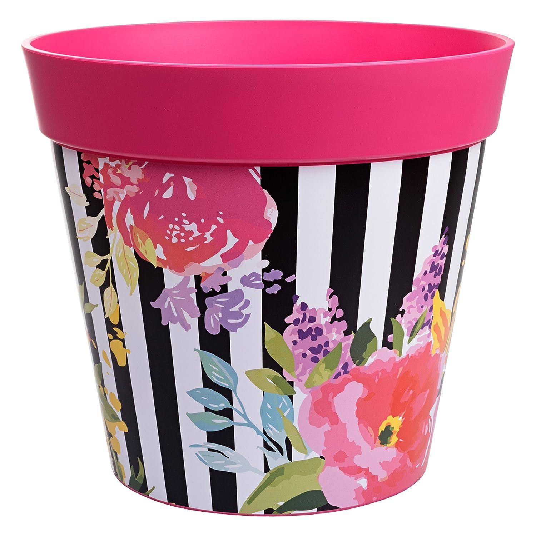 Hum Flowerpots, blue birds and branches plant pot, outdoor/indoor planter