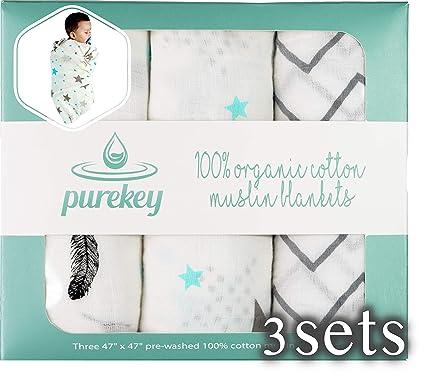 plantas de Algodón Tortuga 3 Set Completo Tortuga Cubierta bebé – toallas quadrotti bebés – Suave