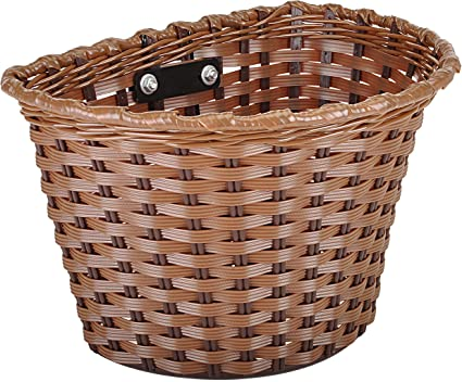Wicker Front Bicycle Bike Basket Top Quality Style Baskets Handlebar ProSource