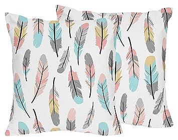 Amazon.com: Accent cojines decorativos para plumas ...