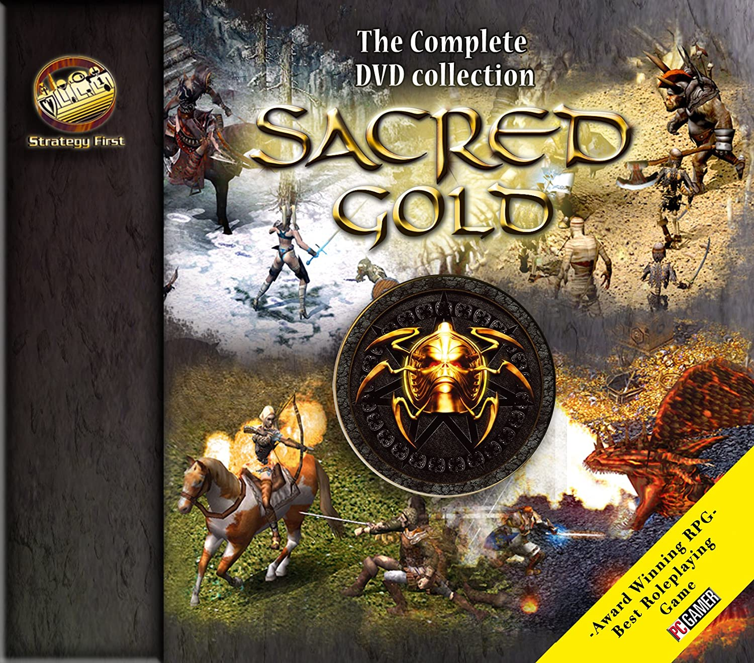 Amazon sacred gold the complete dvd collection pc video games gumiabroncs Choice Image