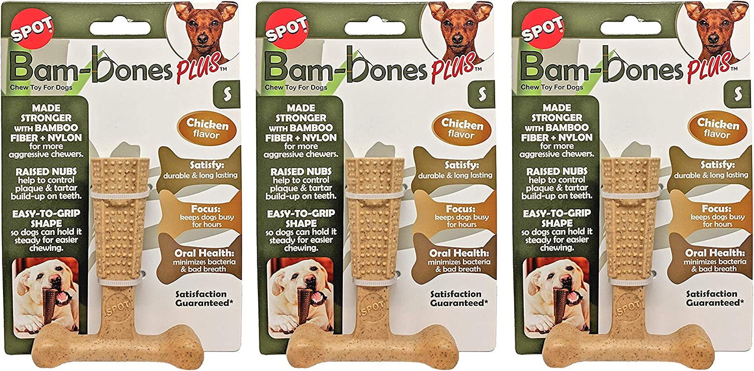 by Abberdabber X-Small to X-Large Dog Toy Rag Bones for Dogs Knotted T-Shirt Bones 5 Sizes