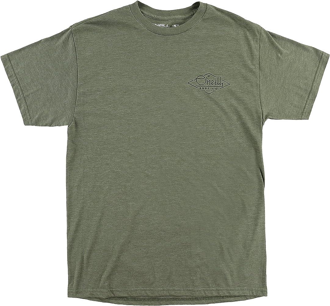 ONeill Flyer - Camisa de Manga Corta para Hombre, Color Verde: Amazon.es: Ropa y accesorios