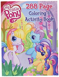 My Little Pony 288 Page Coloring & Activity Book ~ Scootaloo, Rainbow Dash & more with Butterfly