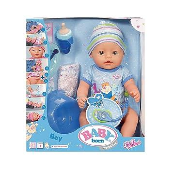 Baby Born 30880 – Muñeca interactiva para niño 9 funciones y 11 (incluye accesorios)
