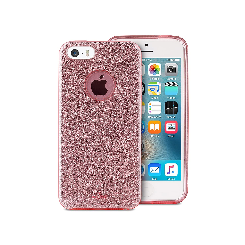custodia glitter puro iphone 5