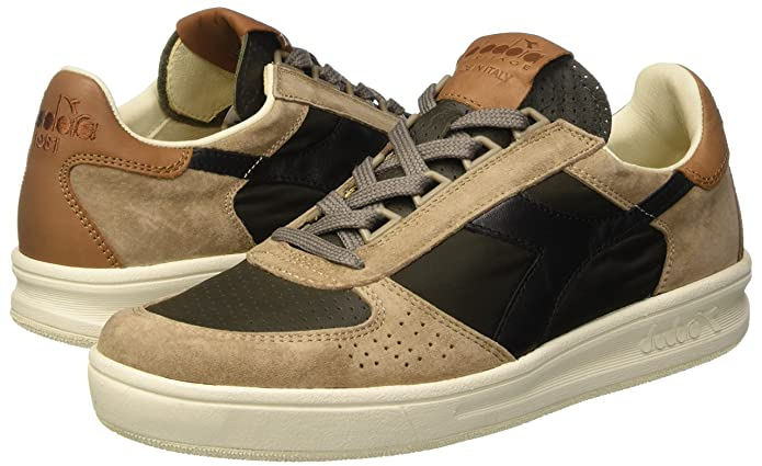Diadora b. elite ita, scarpe da ginnastica uomo, marrone (grape leafwalnut), 41 eu amazon shoes beige pelle