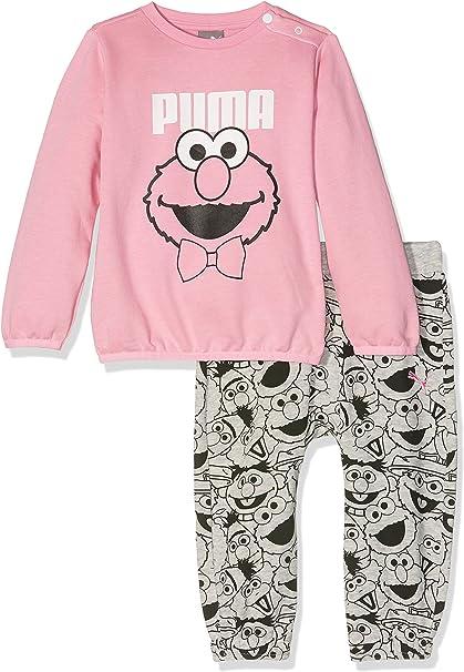 PUMA Conjunto Sudadera y pantalón Sesame Street Infant para niños ...