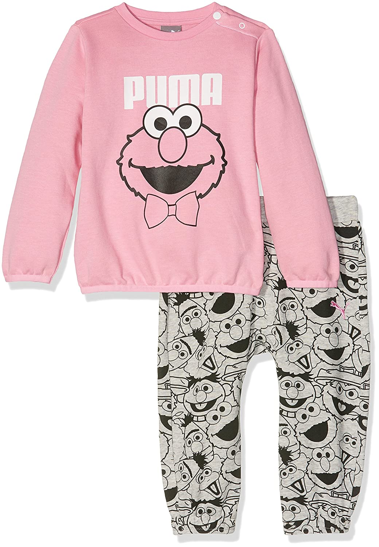 Puma Sesame Street Infant Jogger, Tuta da Ginnastica Unisex Bambini 590716