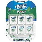 Glide Oral-B Dental Floss, Scope Flavor, 40m (Pack of 6)