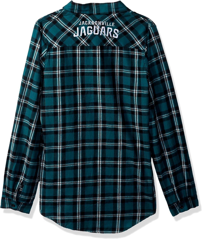 FOCO NFL Unisex-Adult Flannel Shirt