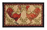 Kitchen Collection Rooster Beige Multi-Color