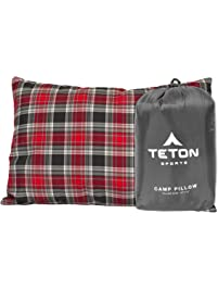 TETON Sports Camp Pillow Perfect for Camping and Travel: Free Stuff Sack Included