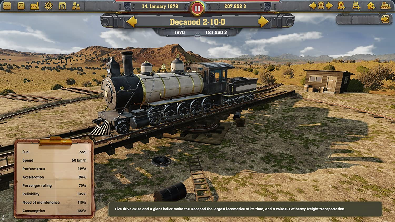 Amazon com: Railway Empire PlayStation 4 - PlayStation 4: Kalypso