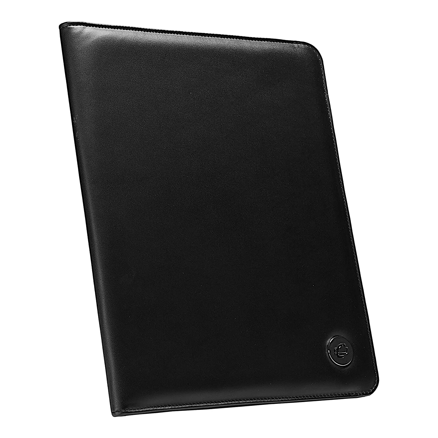 Case-it PAD-30 Executive Leatherette Padfolio with Letter Size Writing Pad, Black Case It
