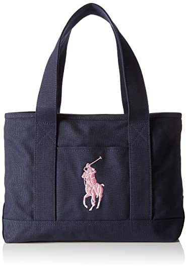 Ralph School Blue Tote Bag Polo Blaunavyblush Lauren Women's ZwXOTPkiu
