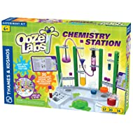 Thames & Kosmos 642105 Ooze Labs Chemistry Station Science Experiment Kit