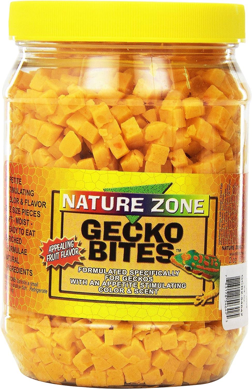 Nature Zone Bites For Fruit Eating Geckos, Soft Moist Food, 24-Ounce