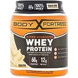 Body Fortress Super Advanced Whey Protein Powder, Gluten Free, Banana Crème, 2 lbs