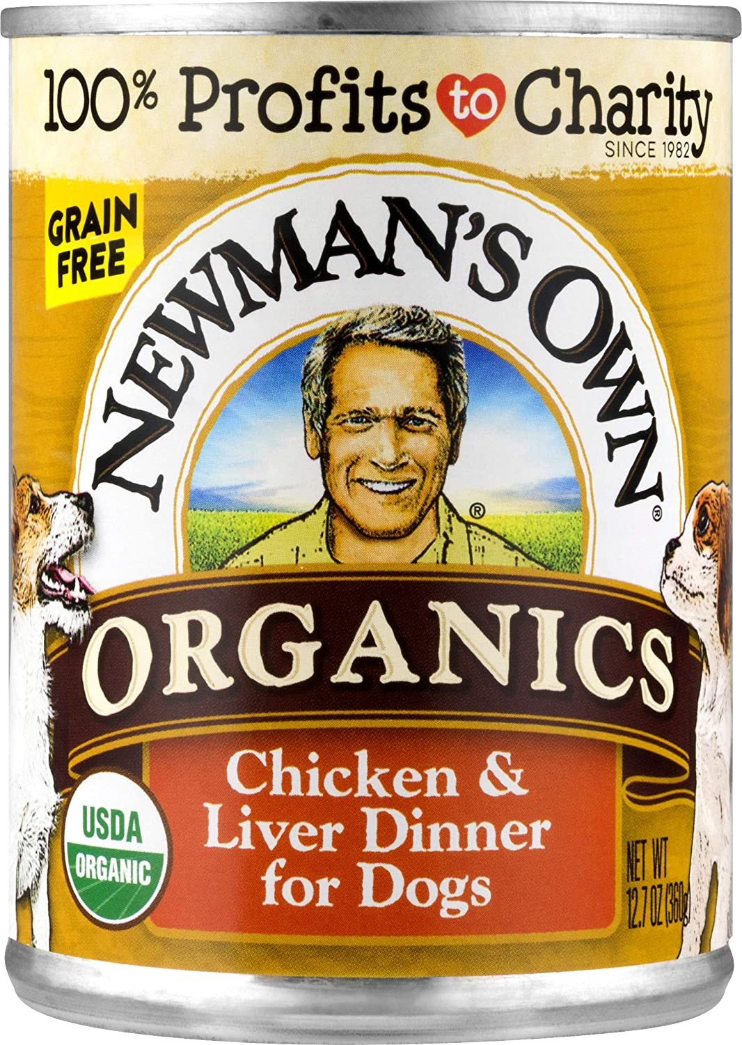 Newman'S Own Chicken & Liver Dinner For Dogs