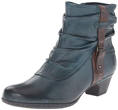Cobb Hill Rockport Women's Alexandra Boot, Blue Teal, ...
