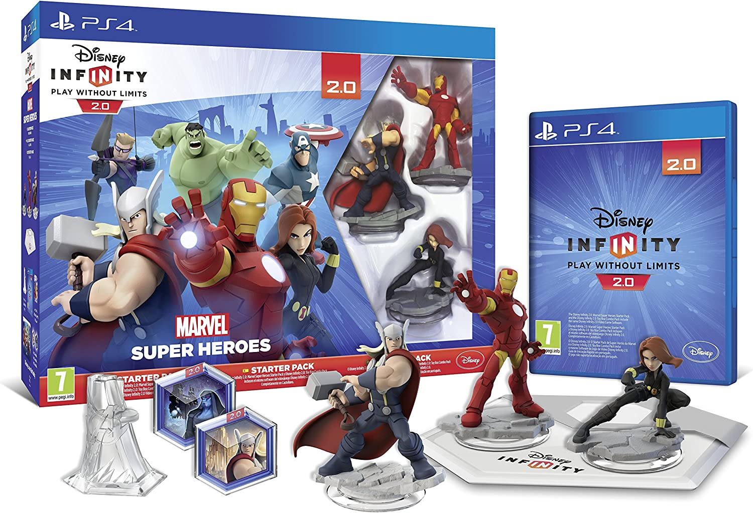 Disney Infinity: Marvel Super Heroes. Starter Pack 2.0 ...