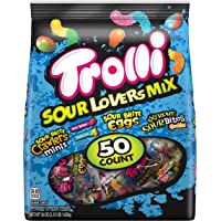 Trolli Sour Lovers Mix Assorted Gummy Candy Variety, Individually Wrapped, 36 Ounce Bag