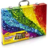Crayola Inspiration Art Case: 140 Art Supplies, Crayons, Colored Pencils, Washable Markers, Paper, Portable Case, Coloring Gifts for Kids (Styles May Vary)