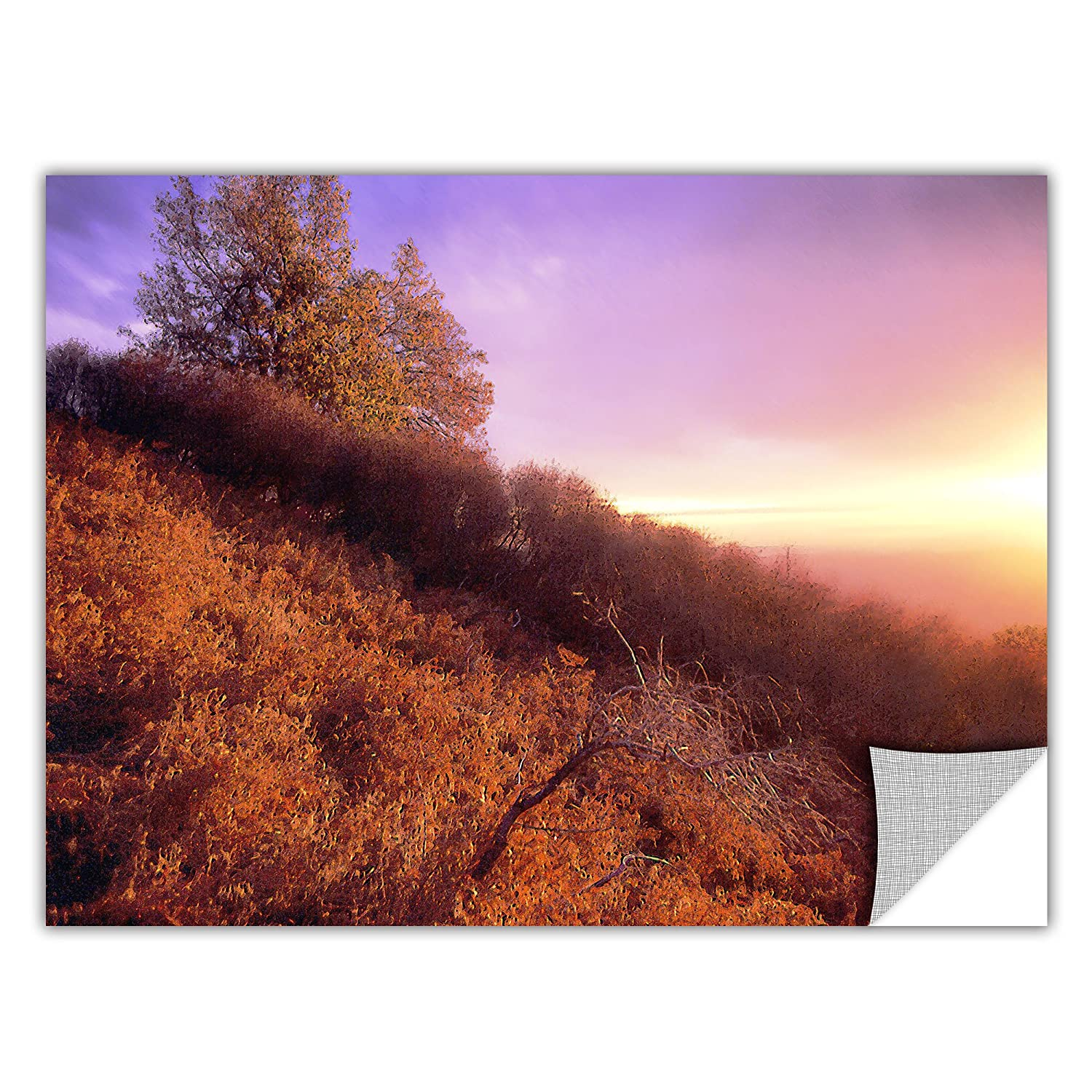 18 by 24-Inch ArtWall Dean Uhlinger Fire Light Removable Graphic Wall Art