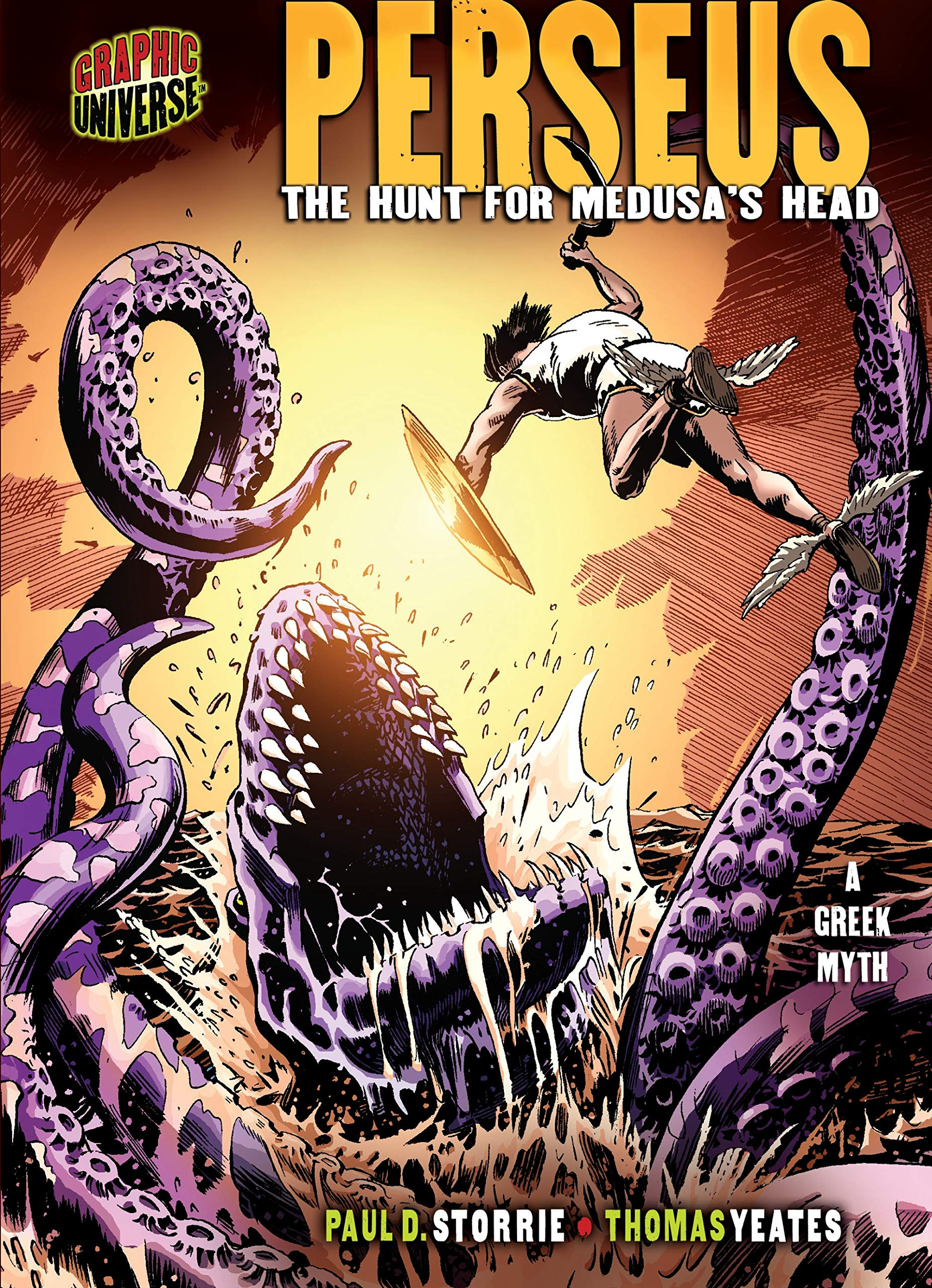 Read Online Perseus: The Hunt for Medusa's Head [a Greek Myth] (Graphic Myths & Legends (Library)) pdf epub