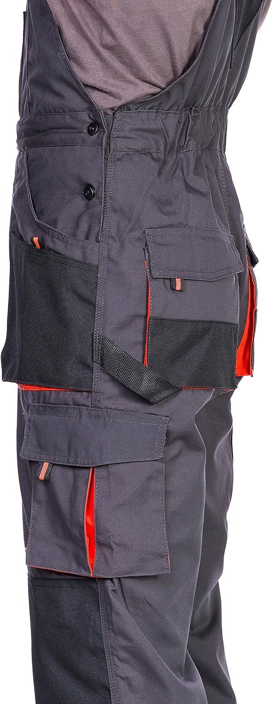 Bolsillos Multiusos Ropa Hombre Pantalones De Trabajo Para Hombre Con Rodilleras Trabajo S 3xl Pantalon De Seguridad Pantalones Con Peto De Trabajo Para Hombre Ropa Especializada Ropa Y Uniformes De Trabajo