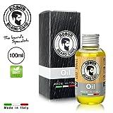 Olio da barba ROBUR con puri olii essenziali. Per una barba più lucida e sana. Effetto emolliente, idratante, condizionante, districante. Prodotto esclusivamente in Italia.