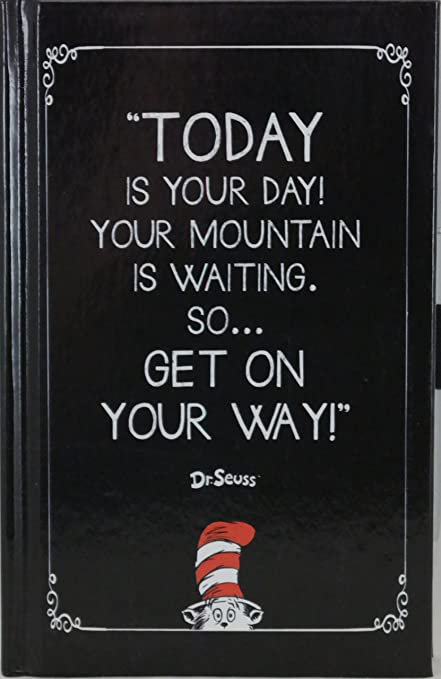 Dr Seuss Today Is Your Day Quote Journal And Pen Set Amazonin