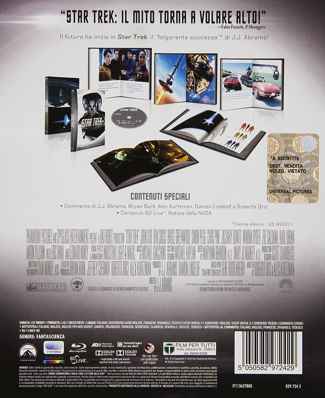 Star Trek: Il Futuro Ha Inizio - Digibook (Blu-Ray): Amazon.it ...