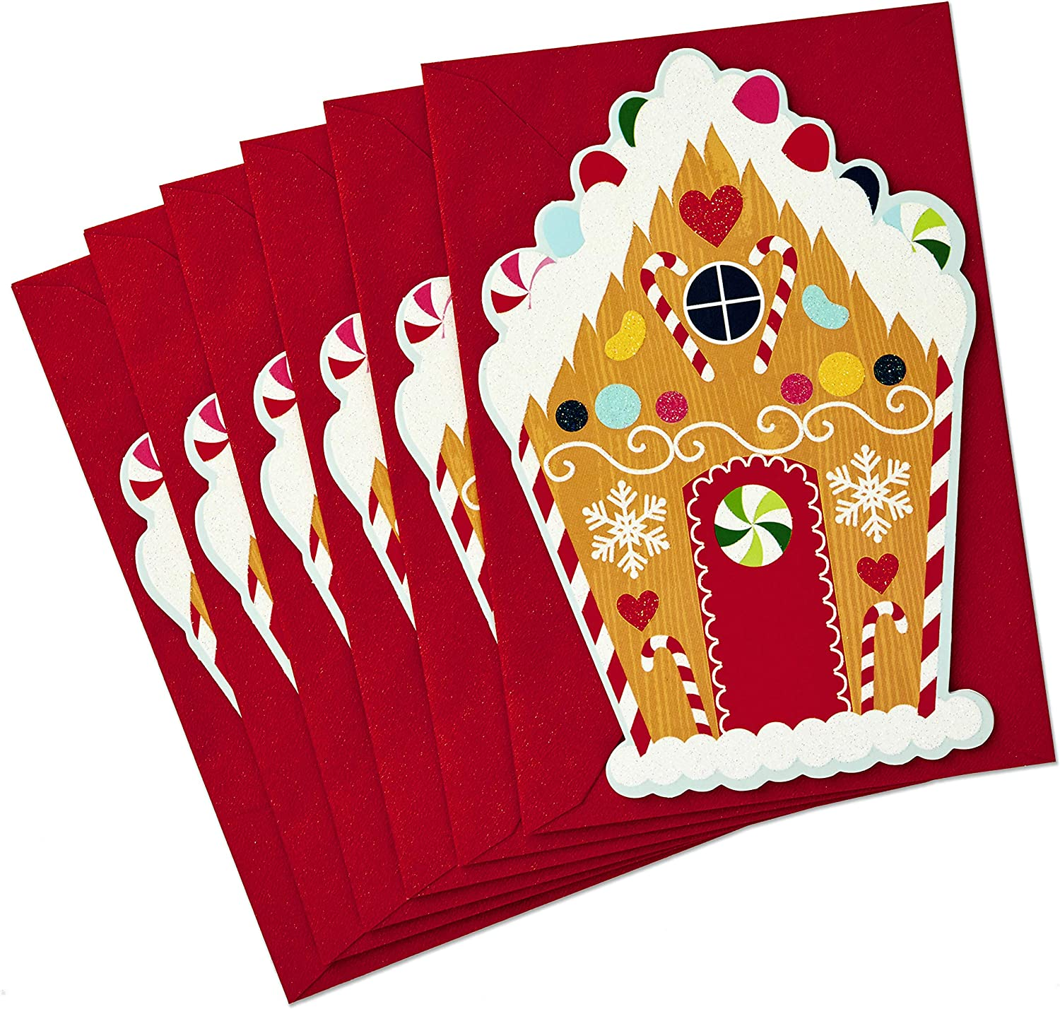 HALLMARK CHRISTMAS HOLIDAY CARDS /& ENVELOPES PACKS OF 6 /& 4