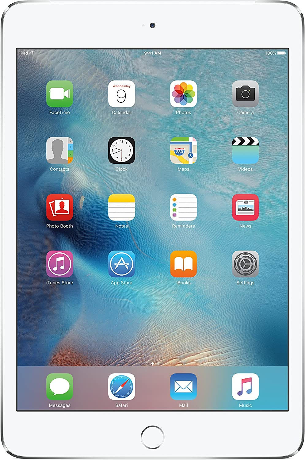 iPad mini 4 16GB Silver WiFi + Cellular(Renewed)