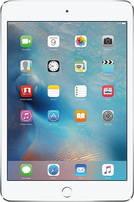 iPad mini 4 16GB Silver WiFi + Cellular(Renewed)