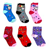Light Gear Baby Boy's and Girl's Hosiery Cotton Socks - Set of 6 Pairs