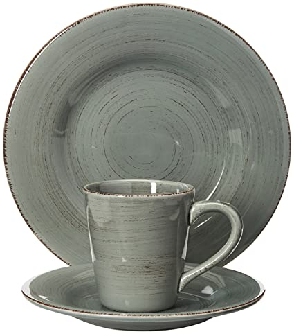 6b61235c48c7 Image Unavailable. Image not available for. Color  tag - Sonoma 16-Piece  Ironstone Ceramic Dinner Set ...