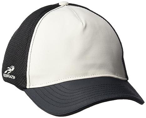 affe9e0d Headsweats Soft Tech 5 Panel Trucker Hat (Silver/Black)