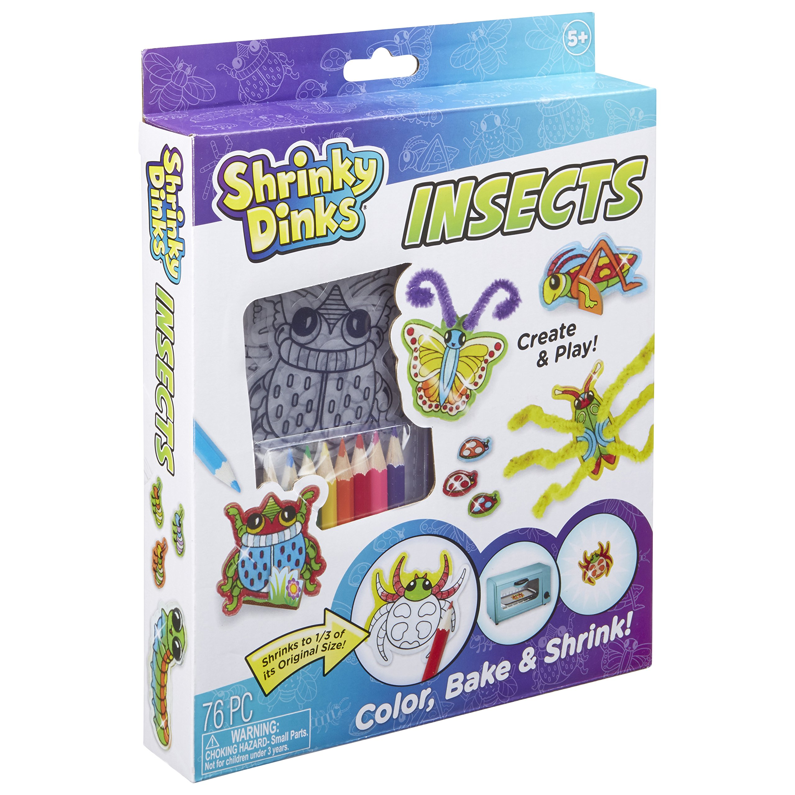 Shrinky Dinks Insects Activity Set Kids Art and Craft Activity