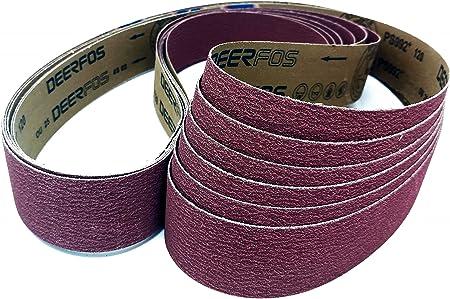 """2x72 Sander Belts Ceramic Grit Packs and Assortments Fit 2/""""x72/"""" Belt sander for"""