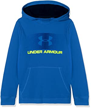 Under Armour CTN French Terry Hoody Sudadera, Niños, Azul (437), XS