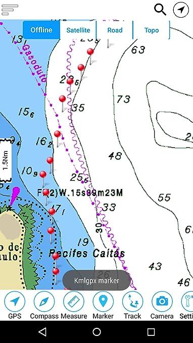 Amazon com: Lake Cumberland Offline GPS Nautical Charts