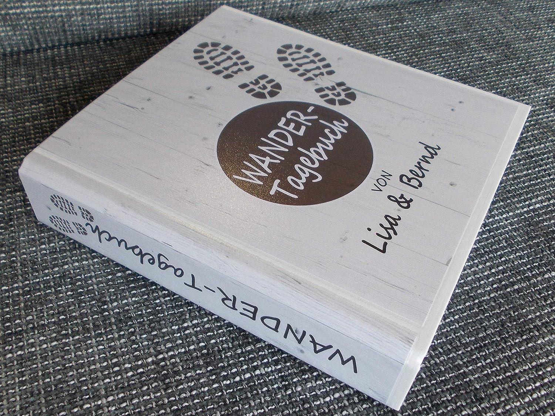 Wander-Tagebuch PERSONALISIERBAR Ringbuch DIN A5